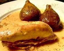Kοτόπουλο με αρωματισμένα σύκα: γεύση από μπάρτσα