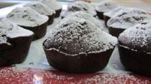 Χιονισμένα muffins