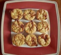 Αλμυρά muffins με κολοκύθι