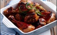 Μπουτάκια  κοτόπουλου με πατάτες σε σακούλα