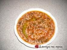 Ντοματόρυζο κατσαρόλας