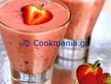 Γιαουρτοποτό με φράουλες