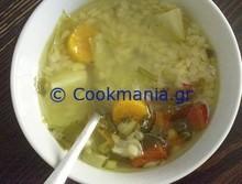 Λαχανόσουπα με πεπονάκι