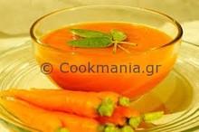 Καροτόσουπα για εκλεκτή βραδιά