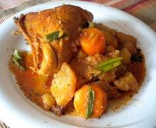 Dakdoritang (닭도리탕)