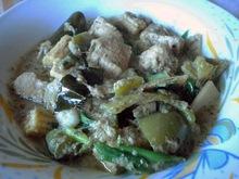 Πρασινο curry με κοτοπουλο (แกงเขียวหวานไก่)