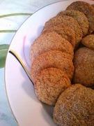 Cookies κανέλας με τζίντζερ
