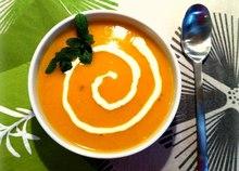 Καροτόσουπα με τζίντζερ: baby κάνει κρύο έξω...