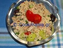 Κουσκούς σαλάτα με τόνο