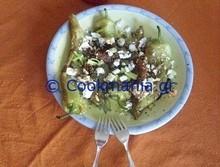 Τηγανητές πιπεριές σαλάτα της ζαννέτ