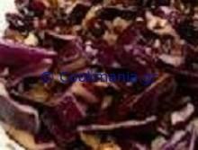 Κόκκινο λάχανο ζεστή σαλάτα