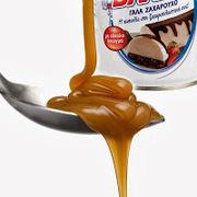 Γλάσο καραμέλας από ζαχαρούχο