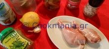 Τραγανό κοτόπουλο στο φούρνο με μουστάρδα και ξινόγαλα