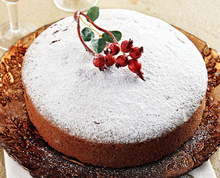 Βασιλόπιτα κεικ greek vasilopita new year's cake