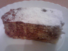 Special δίχρωμο κέικ special marble cake