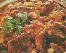 Αρνάκι με γλυκιά πιπεριά