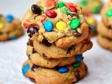 Cookies m&m τα πιο παιχνιδιαρικα μπισκοτα ever!!!