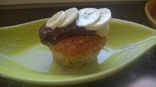 Muffins μπανανας