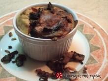 Soufflé μανιταριών (την έκανα την ..πατάτα μου !!)
