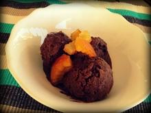 γρανίτα σοκολάτα με πορτοκάλι