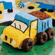 Συνταγη για τούρτα φορτηγάκι για τα αγοράκια!!!!
