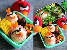 Angry birds !συνταγή για παιδια!!!!