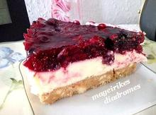 Καλοκαιρινό cheesecake με φρούτα