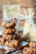 Μπισκότα βρώμης χωρίς ζάχαρη - με sweete stevia