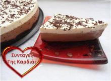 Cheesecake καπουτσίνο