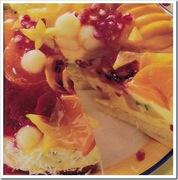 Γλυκό με εξωτικά φρούτα