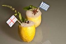 Γρανίτα ούζο vs σορμπέ τζιν τόνικ:coolελληνοβρετανικήμάχη