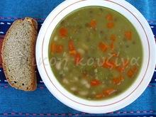 Σούπα πολυσπόρια (μπουρμπουρέλια, πανσπερμία)