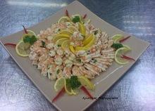 Μαριναρισμένες γαρίδες με σχοινόπρασο και λεμόνι!