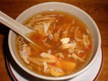 Τσόου μέιν με σούπα