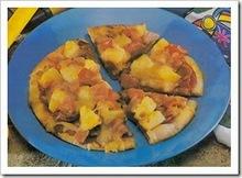 Μίνι πίτσες με ανανά