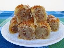 Τσιπόπιτα κυπριακή με αμύγδαλα