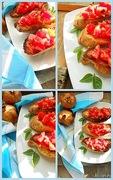 Ιταλική παραδοσιακή μπρουσκέτα