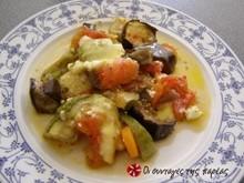 Ανάμεικτα λαχανικά σουφλέ