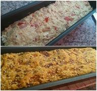 Ζυμωτό ψωμάκια με λιαστή ντομάτα, φέτα και κρεμμύδι!