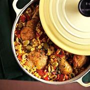 Ισπανία: κοτόπουλο με σαφράν, πανσέτα και ρύζι!