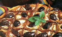 Pissaladiere (πίτσα της νορμανδίας)