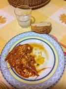 Ουζάτες γαρίδες σαγανάκι με δυόσμο, μύρισε θάλασσα...