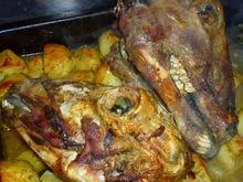 Lixoudis.gr//κεφαλάκια αρνίσια ψητά στο φουρνο
