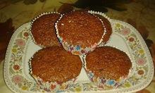 Cupcakes  με σοκολατουχο ρόφημα