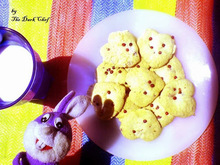 Μπισκότα με ροζ πιπέρι και άρωμα τριαντάφυλλο