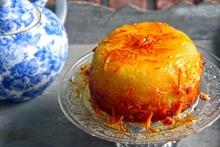 Orange marmalade pudding - πουτίγκα μαρμελάδα πορτοκάλι