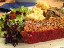 Ρολό με φακές και πληγούρι | lentil and cracked wheat loaf