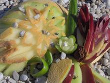 Φρουτένιες δημιουργίες…στην παραλία!