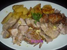 Lixoudis// χοιρινο στο φουρνο mε πατατες