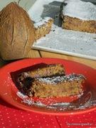 Κέικ καρύδας χωρίς αυγά, ζάχαρη, βούτυρο-vegan coconut cake